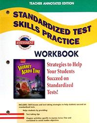 Journey Across Time, Standardized Test Skills Practice Workbook, Teacher Edition
