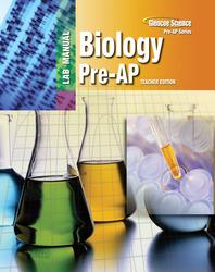 BSCS Biology: A Molecular Approach, Pre-AP Laboratory Manual, Teacher Edition