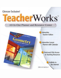 Geometry: Concepts and Applications, TeacherWorks CD-ROM