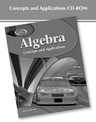 AlgePASS: Concepts and Applications CD-ROM