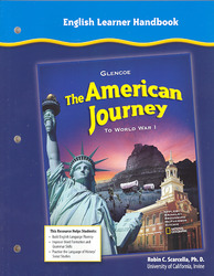 The American Journey To World War 1, English Learner's Handbook