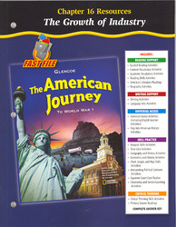 The American Journey To World War 1, Chapter 16 Resource Book