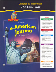 The American Journey To World War 1, Chapter 13 Resource Book