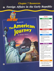 The American Journey To World War 1, Chapter 7 Resource Book