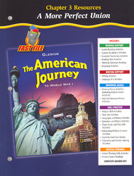 The American Journey To World War 1, Chapter 3 Resource Book