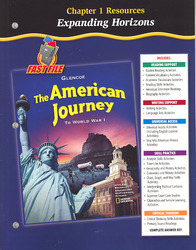 The American Journey To World War 1, Chapter 1 Resource Book