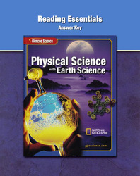 Glencoe Physical iScience with Earth iScience, Grade 8, Reading Essentials  Answer Key