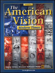 The American Vision, Modern Times, Reading and Study Skills Foldables