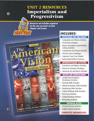 The American Vision: Modern Times, Unit 2 Resources