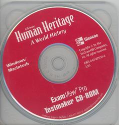 Human Heritage, ExamView Pro Testmaker