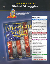 The American Vision: Modern Times, Unit 4 Resources