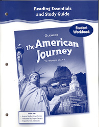 The American Journey to World War 1, Reading Essentials and Study Guide, Workbook