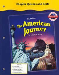 The American Journey To World War I, Chapter Quizzes and Tests (Forms A&B)