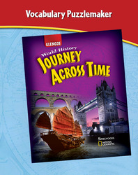 Journey Across Time, Vocabulary PuzzleMaker