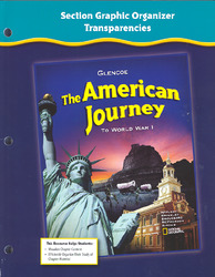 The American Journey to World War 1, Section Graphic Organizer Transparencies , Strategies and Activities