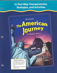 The American Journey to World War 1, In-Text Transparencies, Strategies and Activities