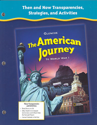 The American Journey to World War 1, Then and Now Transparencies, Strategies and Activities