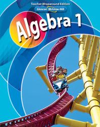 Algebra 1, Teacher Wraparound Edition