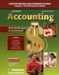 Glencoe Accounting: First Year Course, Chapters 1-29, Working Papers, Teacher Annotated Edition