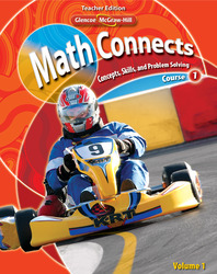 Math Connects: Concepts, Skills, and Problem Solving, Course 1, Teacher Wraparound Edition, Volume 1