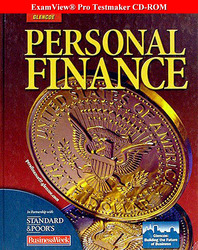 Personal Finance, ExamView® Pro Testmaker CD-ROM