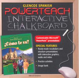 ¿Cómo te va? Level A Nivel verde, PowerTeach Interactive Chalkboard CD-ROM