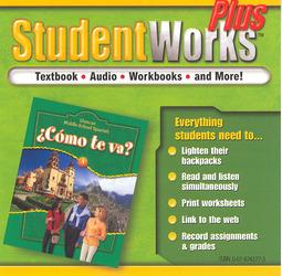 ¿Cómo te va? Level A Nivel verde, StudentWorks Plus CD-ROM