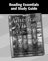 The American Vision, Reading Essentials and Study Guide, Workbook