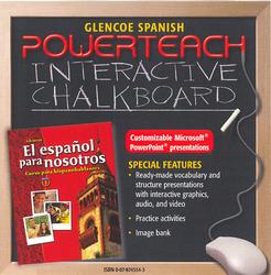 El español para nosotros Level 1, PowerTeach Interactive Chalkboard CD-ROM