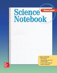 Glencoe iScience, Level Green, Grade 7, Science Notebook, Student Edition