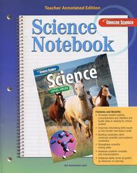Glencoe iScience, Level Green, Grade 7, Science Notebook, Teacher Edition