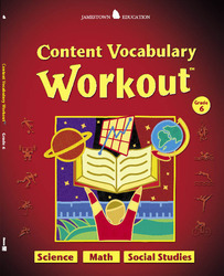Jamestown Education, Content Vocabulary Workout, Student Edition, Grade 6