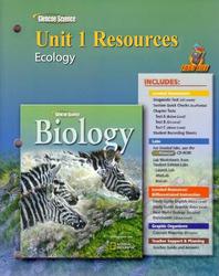 Glencoe Biology, Unit 1 Fast Files