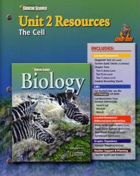 Glencoe Biology, Unit 2 Fast Files