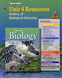 Glencoe Biology, Unit 4 Fast Files
