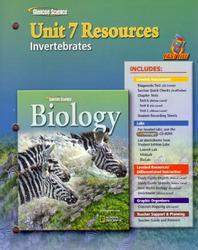 Glencoe Biology, Unit 7 Fast Files