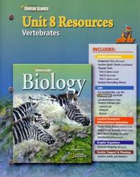Glencoe Biology, Unit 8 Fast Files