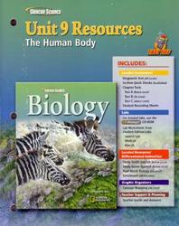 Glencoe Biology, Unit 9 Fast Files