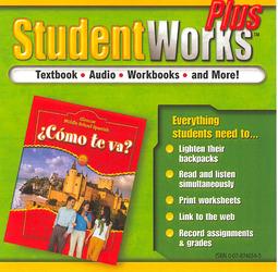 ¿Cómo te va? Intro Nivel rojo, StudentWorks Plus CD-ROM
