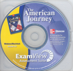 The American Journey, ExamView Assessment Suite, CD-ROM