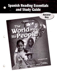 The World and Its People, Spanish Reading Essentials and Study Guide, Answer Key