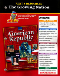 The American Republic to 1877, Unit 5 Resource Book