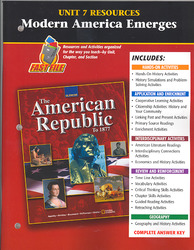 The American Republic to 1877, Unit 7 Resource Book