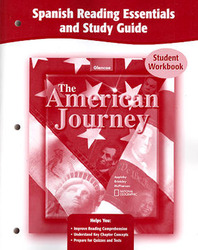 The American Journey, Spanish Reading Essentials and Study Guide, Workbook