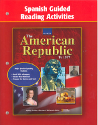 The American Republic to 1877, Spanish Guided Reading Activities