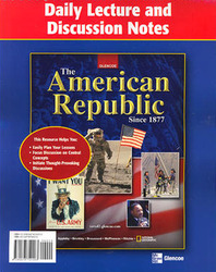 The American Republic Since 1877, Daily Lecture Notes