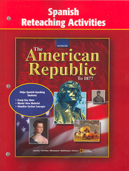 The American Republic to 1877, Spanish Reteaching Activities