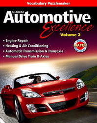 Automotive Excellence, Vocabulary Puzzlemaker CD-ROM, Volume 2