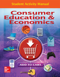 Consumer Education And Economics, Student Activity Manual