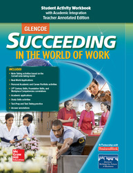 Succeeding in the World of Work Student Activity Workbook TAE